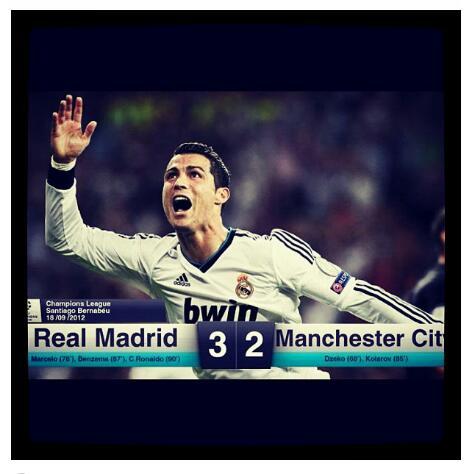 7da24d4c Real Madrid 3-2 Manchester City, mål og intervju. | Christian Burmeister