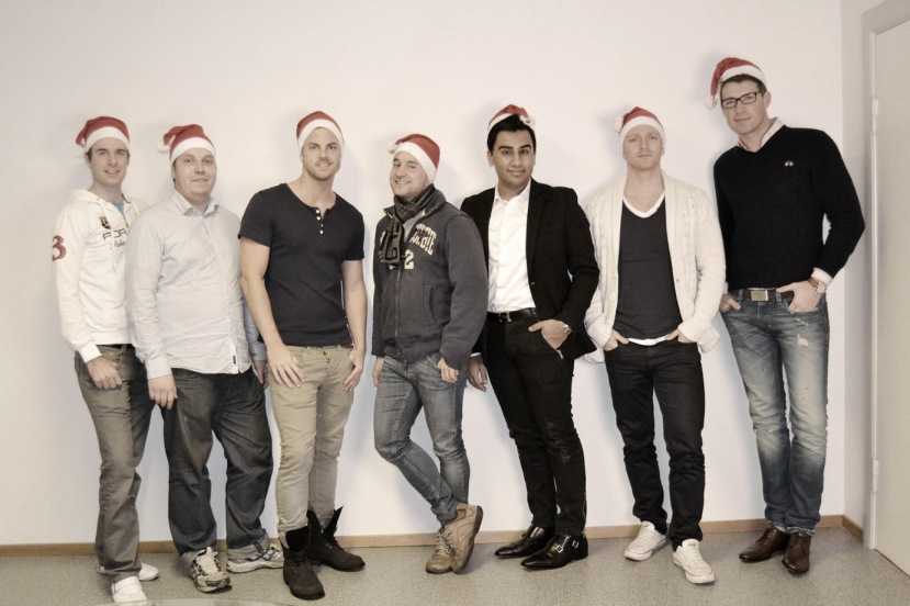 Team Santa gråtone 2