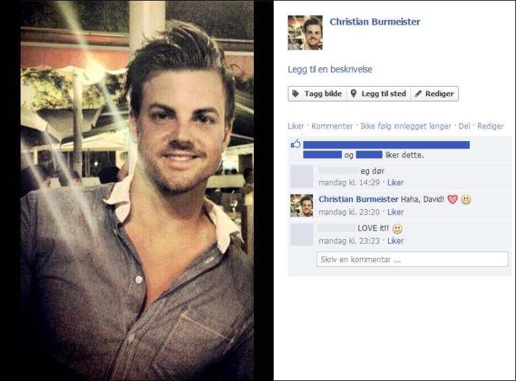 Christian Burmeister Facebook profilbilde