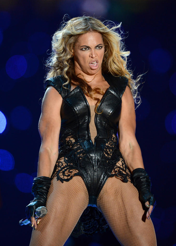 Sexy Beyonce på Superbowl Half Time