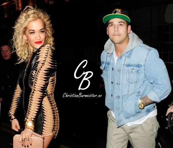Slutt mellom Rita Ora og Rob Kardashian