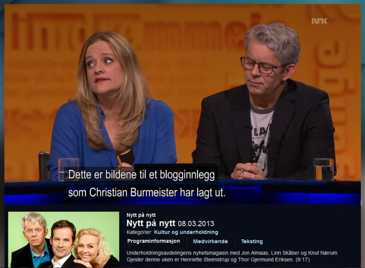 Christian Burmeister - Nytt på nytt