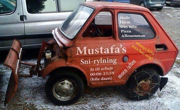 Mustafa snørydding