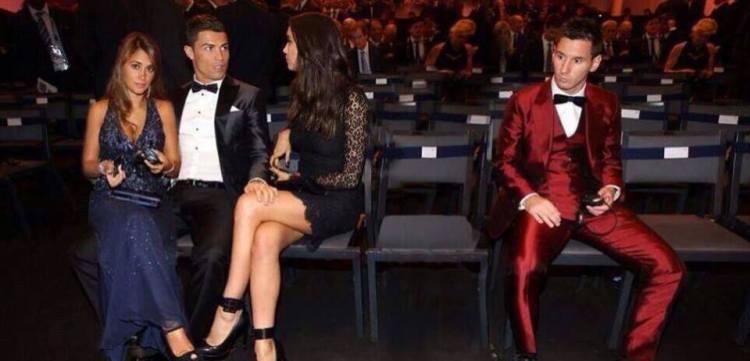 Ronaldo stjeler også kjæresten til Messi