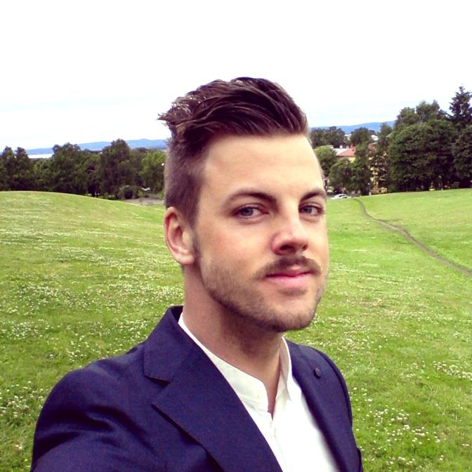 Christian Burmeister, selfie.