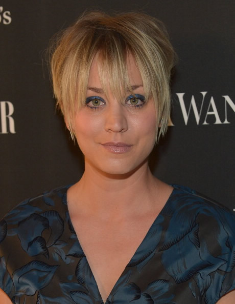 Kaley Cuoco på Vera Wang's boutique 2014