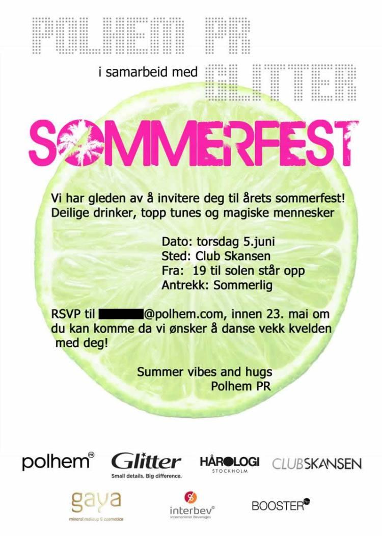Polhem PR sommerfest