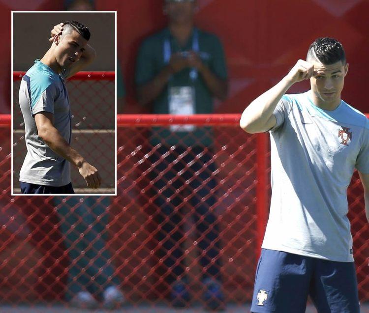 Ronaldo, ny hårsveis