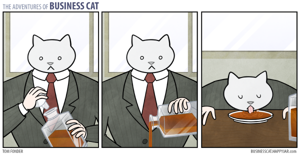Business cat - Whiskey