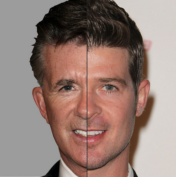 Alan Thicke og Robin Thicke