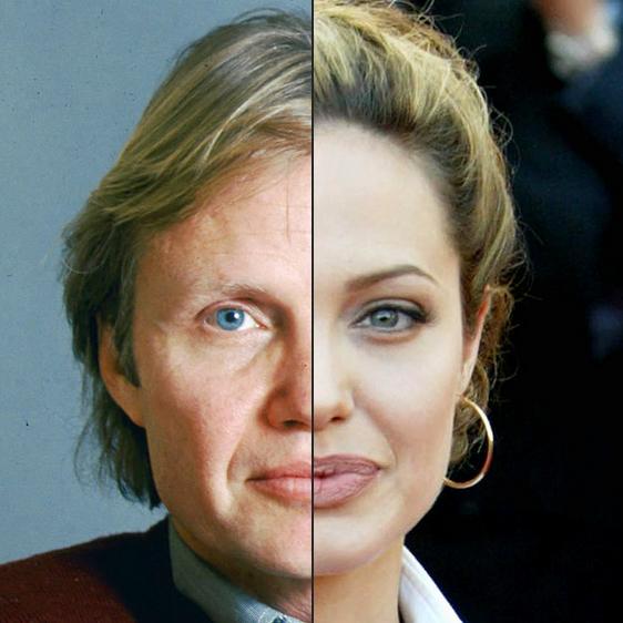 Jon Voight og Angelina Jolie