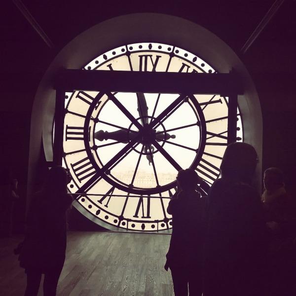 Utvendig klokken musee d'Orsay