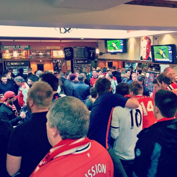 Manchester United bar
