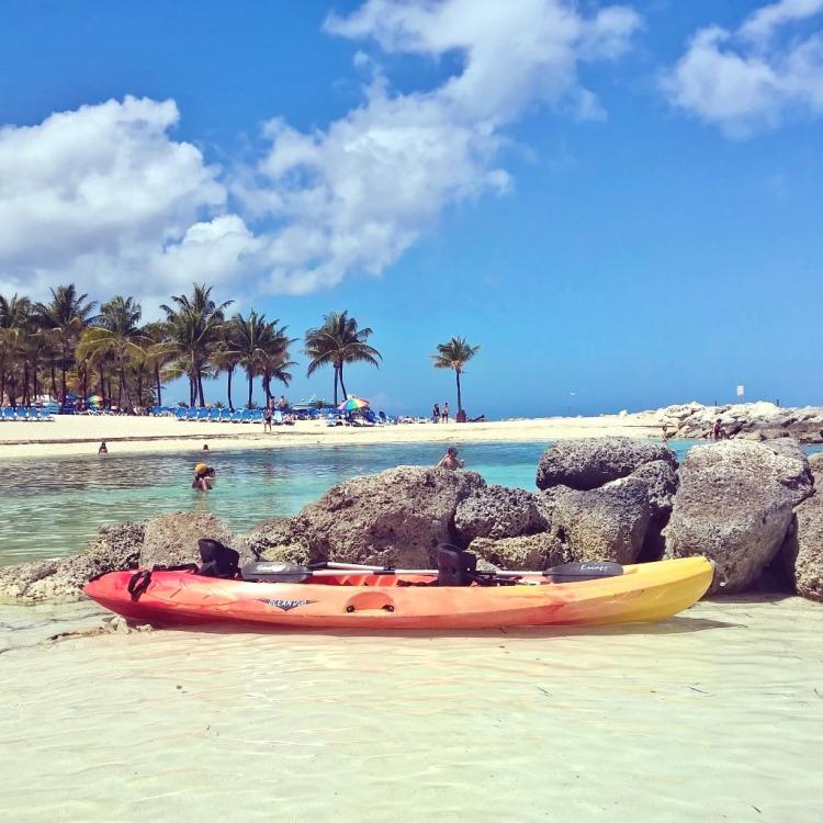 15.04.15 - Coco Cay, stranden