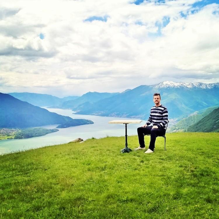 21.05.15 - Utsikt over Lago di Como
