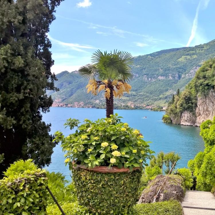 22.05.15 - Utsikt  over havet fra Villa del Balbianello