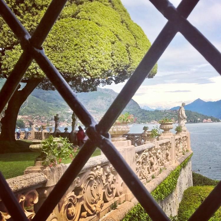 22.05.15 - Utsikt på Villa del Balbianello