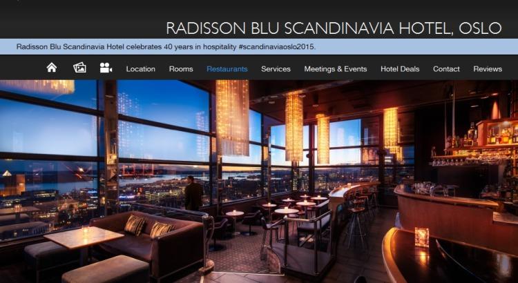 Natt til 16 mai - Hotel Radisson BLU Oslo Summit 21