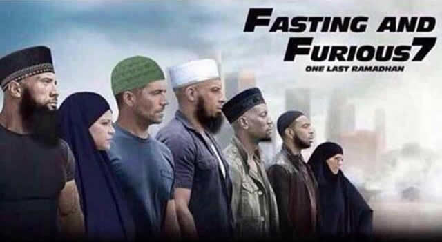 Fasting and Furious 7
