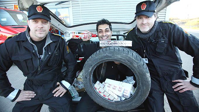 Tommy Sharif og politiet