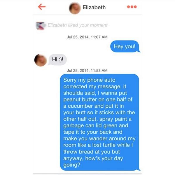 Morsome henvendelser på Tinder 4