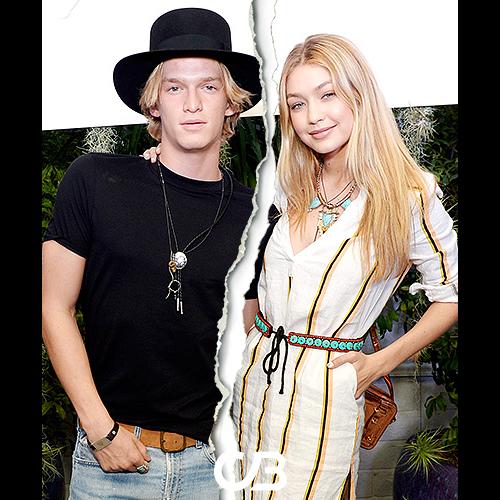 Slutt mellom Cody Simpson og Gigi Hadid