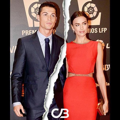 Slutt mellom Cristiano Ronaldo og Irina Shayk