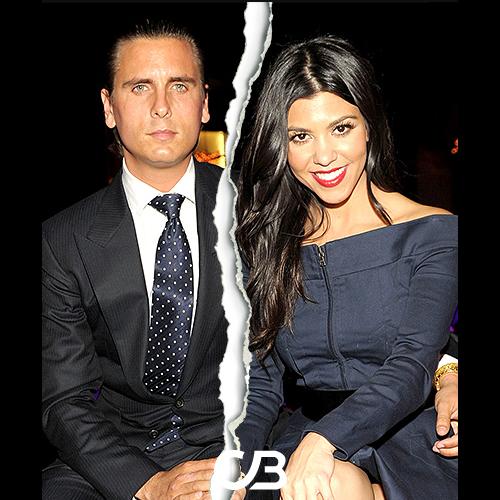 Slutt mellom Scott Disick og Kourtney Kardashian
