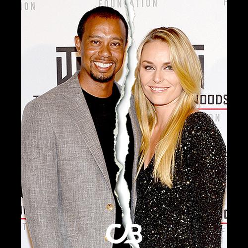Slutt mellom Tiger Woods og Lindsey Vonn